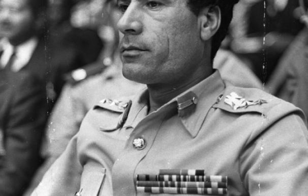 Gadafi en 1979.