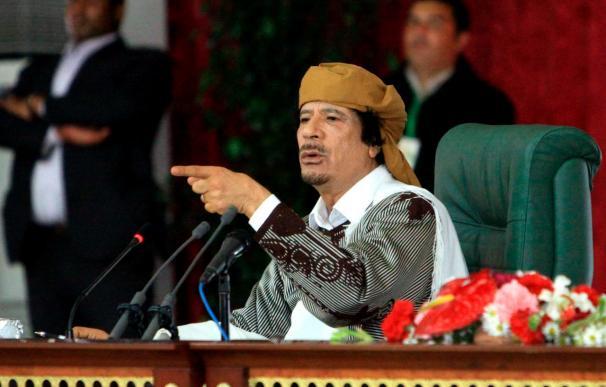 """Gadafi advierte a los aliados que la situación podría estar """"descontrolada"""""""