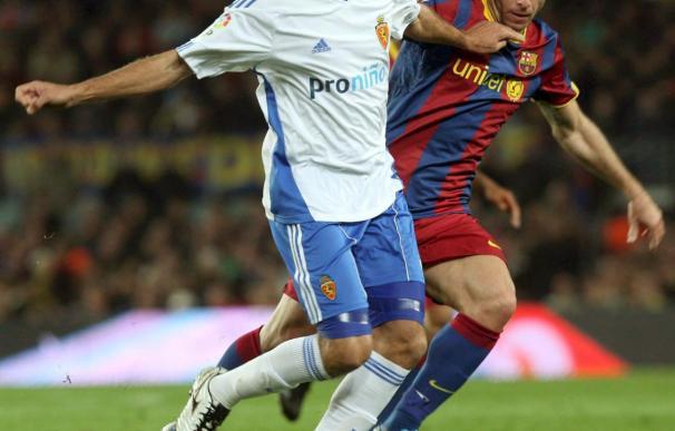 El brasileño del Zaragoza Edmilson sufre una contractura muscular