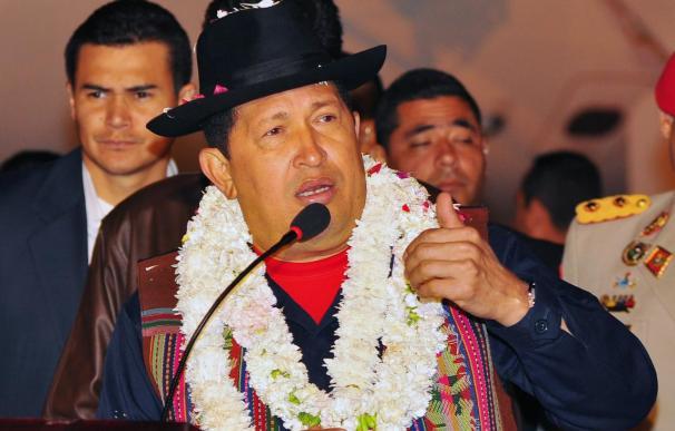 """Hugo Chávez califica de """"locura extrema"""" la intervención en Libia"""