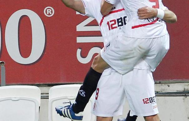 """Perotti considera que le queda """"mucho por devolver"""" al Sevilla"""