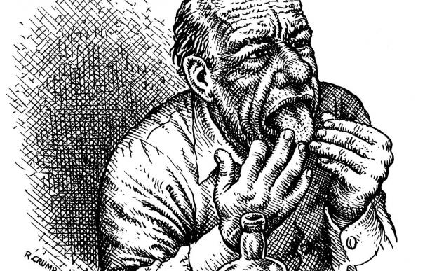 """Tráeme tu amor"", la unión de Robert Crumb y Charles Bukowski"