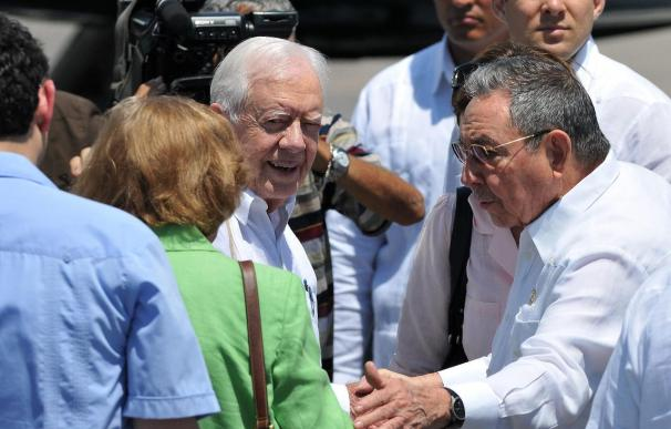 "Fidel Castro elogia a su ""amigo"" Jimmy Carter"