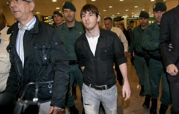Messi no tiene ninguna lesión muscular, pero es duda frente al Villarreal