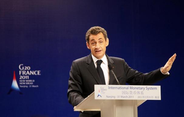 Sarkozy impulsa en Nankín la reforma del sistema monetario internacional