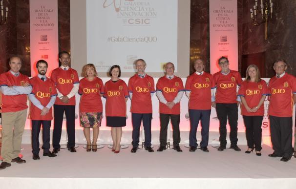 El CSIC y la revista QUO desvelan los nombres de los miembros de la Selección Española de la Ciencia 2016
