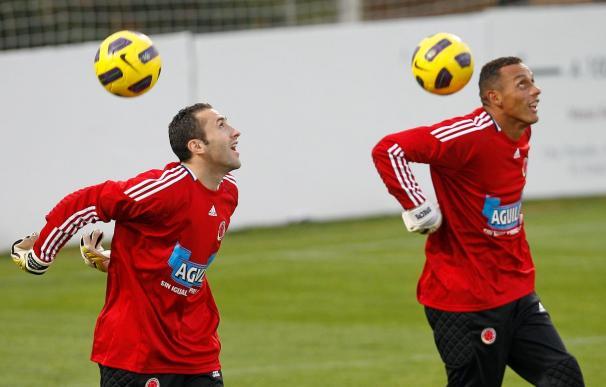 Colombia completó su primer entrenamiento en España