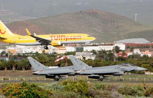 Los aviones españoles inician su primera misión en Libia