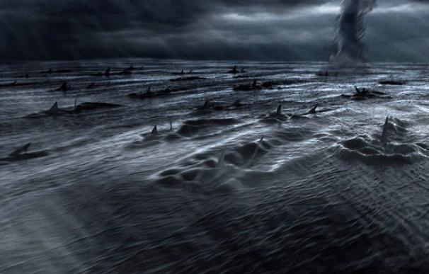 Imagen de la película 'Sharknado'.