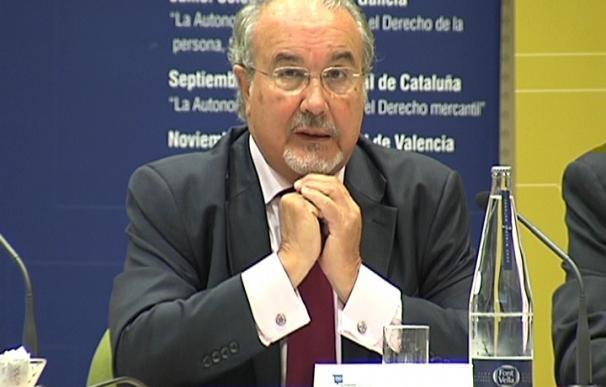 Pedro Solbes, exvicepresidente del Gobierno.