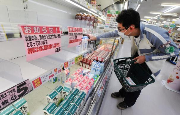 Japón prohíbe la distribución de algunos alimentos contaminados por radiación