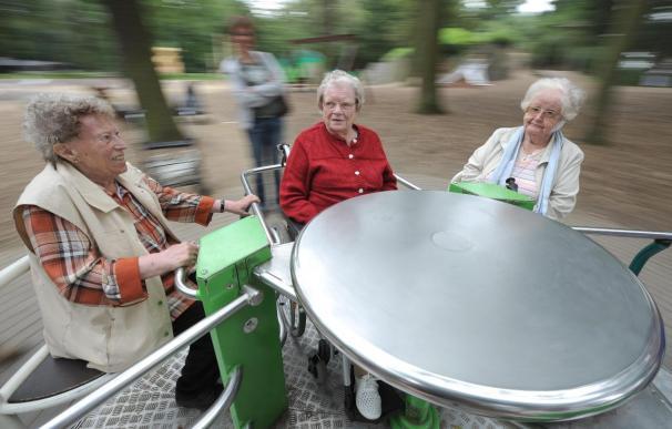 Un grupo de jubilados alemanes.