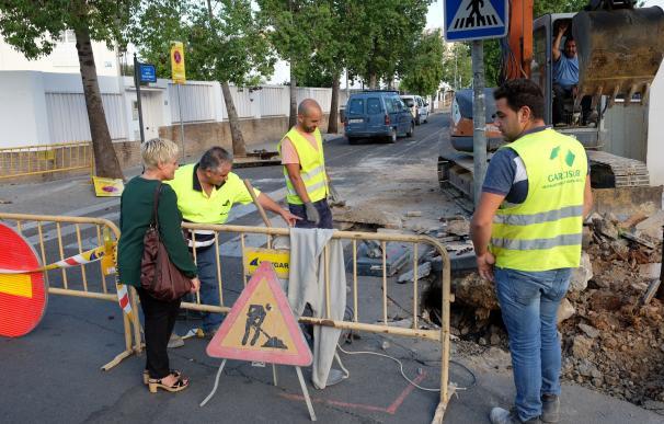 Urbanismo acomete la reurbanización total de la calle Doña María de Molina