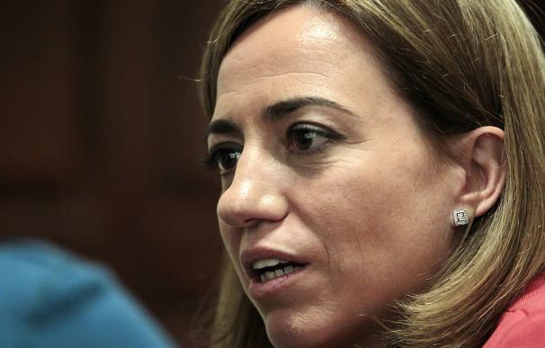 Diuptada Carmen Chacón. FOTO: Europa Press