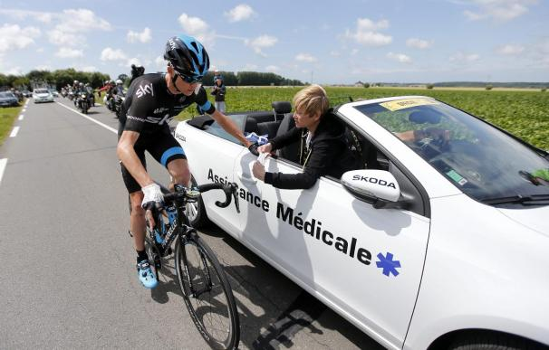 Froome abandona el Tour tras una segunda caída en la quinta etapa