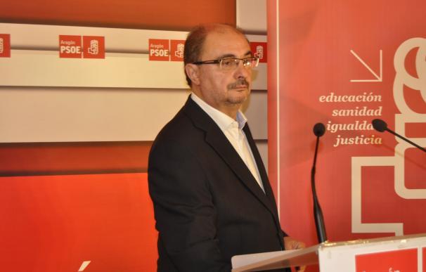 """Lambán da por acabada la """"Operación Triunfo"""" con la dimisión de Pedro Sánchez y pide """"tomarse en serio"""" España"""