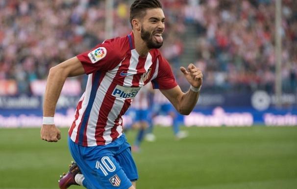 Carrasco vuelve a tirar del Atlético en la tarde que el sufrimiento volvió al Calderón