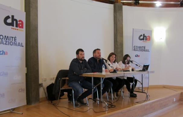 """CHA seguirá en el Gobierno de Aragón, pero advierte de que """"no a cualquier precio"""""""