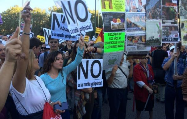 En directo Rodeo el Congreso: Garzón es la 'estrella' e Iglesias no aparece