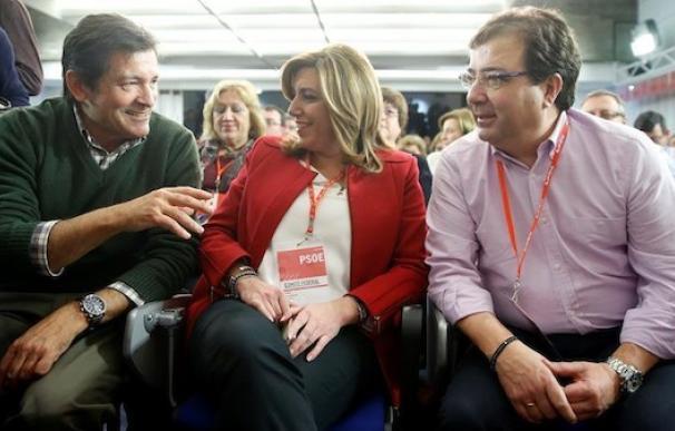 El PSOE de Díaz y Fernández se lanza en tromba a hacer 'pedagogía' de la abstención