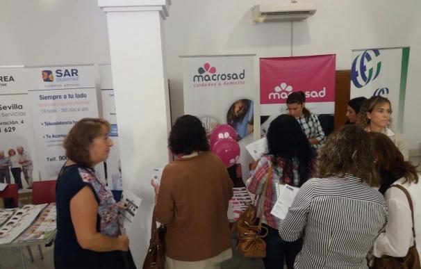 Macrosad conecta con 200 demandantes de empleo con dificultades en la Feria del Empleo Sevilla Norte