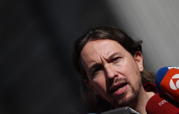 """Iglesias ve """"saludable"""" la protesta a Felipe González y cree que no debe tener """"la piel tan fina"""""""