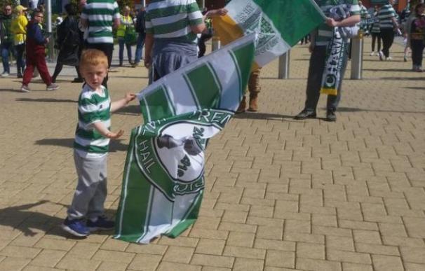 Un niño de cinco años llama al Celtic para pedir perdón por faltar a un partido
