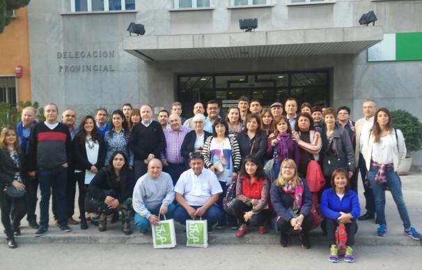 Una treintena de profesionales sanitarios de Argentina conoce el sistema andaluz de salud
