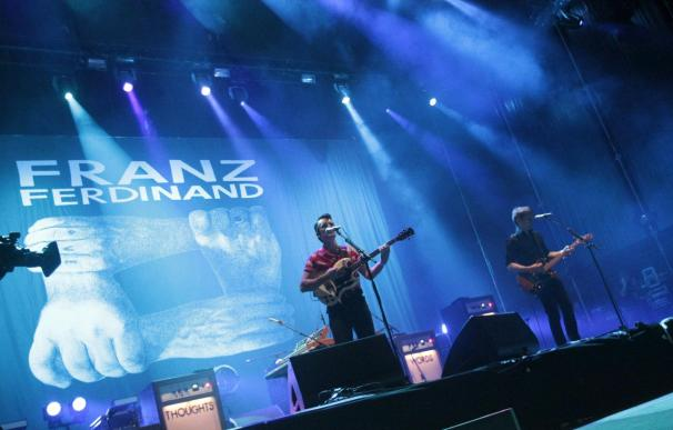 Con Franz Ferdinand, Madrid fue una fiesta