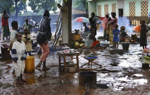 Los soldados franceses comienzan a desarmar las milicias en la República Centroafricana