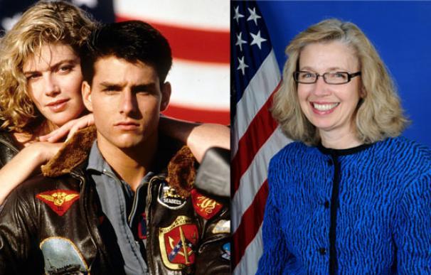 Obama nombra número dos del Pentágono a la mujer real tras la rubia de Top Gun
