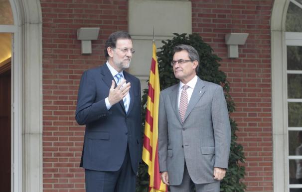 Rajoy comunicó ayer a Artur Mas su rechazo al Pacto Fiscal
