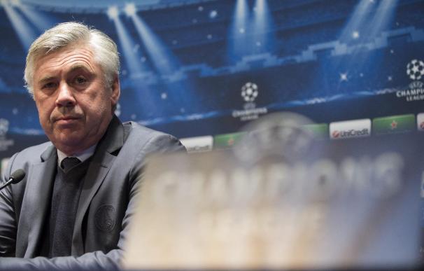 """Ancelotti asegura que """"es difícil decir no al Real Madrid"""" pero está bien en el PSG"""