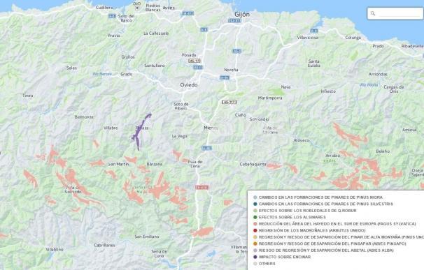 Asturias emite 22,8 toneladas de CO2 por habitante, aunque ha reducido las emisiones desde 1990, según un estudio