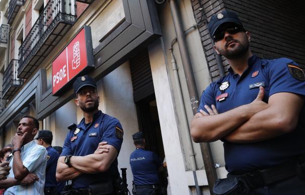 PSOE pide a la Policía que garantice la seguridad de los delegados a la entrada y salida del Comité Federal