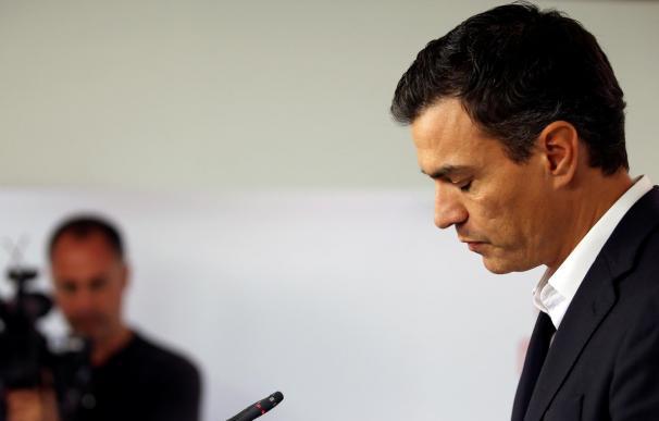 Pedro Sánchez dimite tras perder la votación del Comité Federal