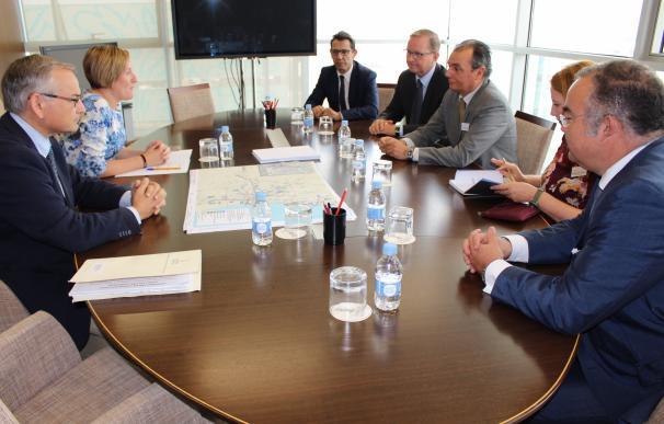 El Consell respalda la reivindicación empresarial para mejorar la línea Sagunto-Teruel-Zaragoza