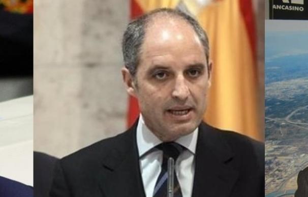 PSPV, Compromís, C's y Podemos citan a Zaplana, Camps y Fabra en la comisión de Ciegsa y el PP a Puig