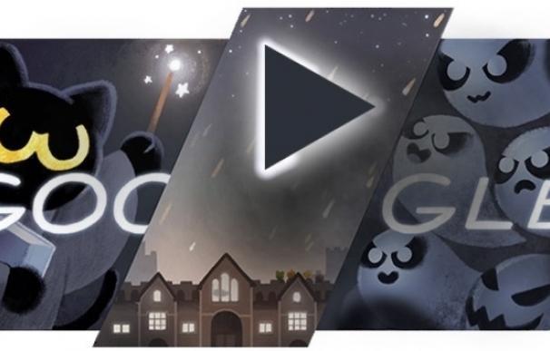 Google lanza un mini juego en su 'doodle' para celebrar Halloween: ¿Eres capaz de pasártelo?