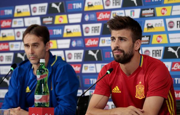 Piqué anuncia que dejará la selección tras el Mundial de Rusia 2018