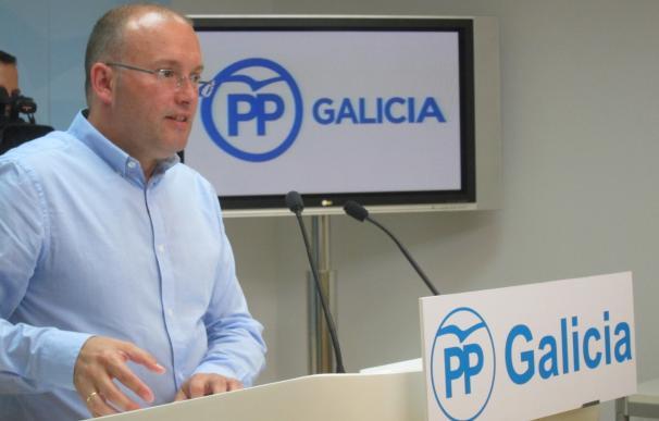 """Tellado dice que el PP """"se renovará como en 2006"""" cuando Feijóo decida """"dar un paso atrás"""" y rechaza pensar en el relevo"""