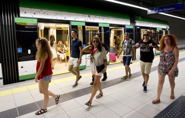 El metro incrementa un 3% su demanda hasta septiembre con 3,72 millones de viajeros