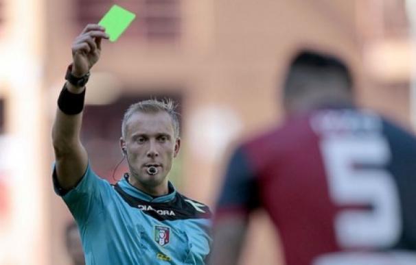 La tarjeta verde, curiosa novedad en Itaila. /@SkySportAustria