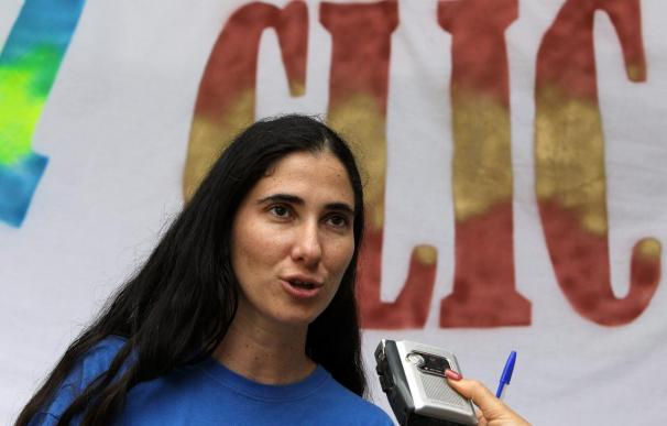 La bloguera cubana Yoani Sánchez, liberada tras 30 horas de arresto
