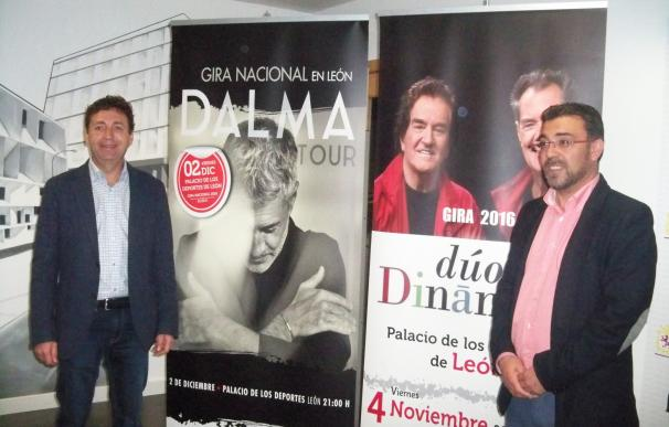 El Dúo Dinámico y Sergio Dalma llegan a León en noviembre y diciembre dentro del programa 'Noches en el Palacio'