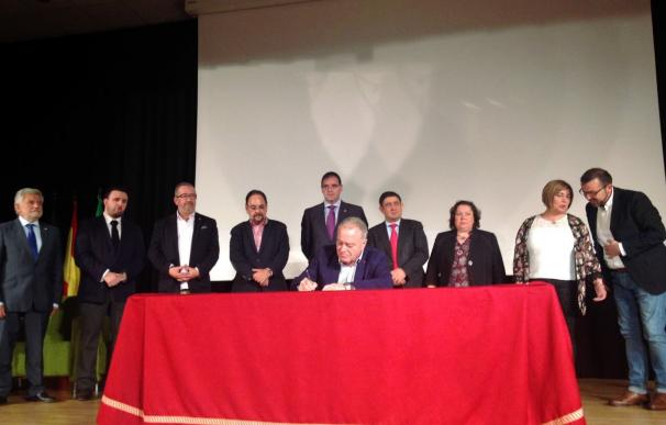 Diputaciones de toda España firman la Declaración de Montánchez sobre la despoblación rural