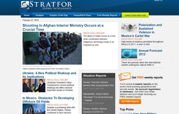 Stratfor, la agencia que vendía datos sacados de internet como información secreta por 349 dólares al año
