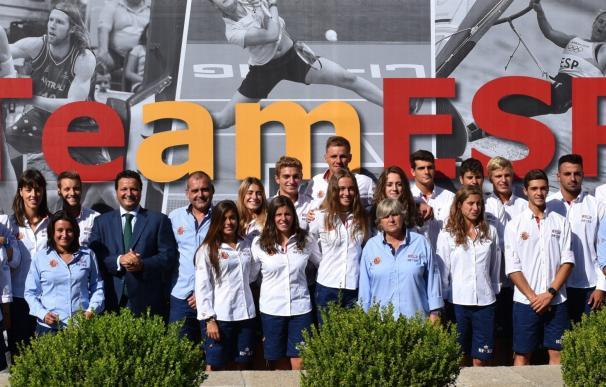 Óscar Graefenhain despide a la selección española que competirá en el Mundial de Salvamento y Socorrismo