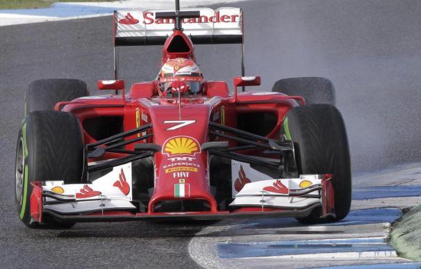 "Raikkonen destaca la ""fiabilidad"" del nuevo F14T de Ferrari"
