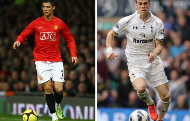 Cristiano Ronaldo mejoraba en 2008 los números actuales de Bale en la Premier